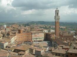 Photo of Florence Siena and San Gimignano Day Trip from Florence Piazza del Campo