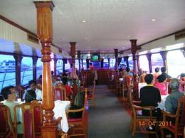 Inside River Sun Cruise while returning from Ayutthaya on mighty Chao Phraya River. , TARA NATH R - May 2011