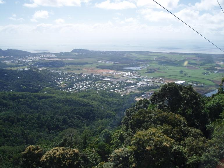 skyrail view - Cairns & the Tropical North