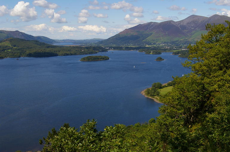 spectacular view of the lake - Lake District