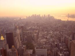 Photo of New York City NY SKYRIDE and Empire State Building Observatory Sunset