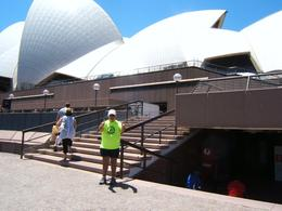 HERE I AM IN THE FOREGROUND OF THE OPERA HOUSE. , Ed D - February 2014