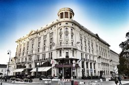 The Bristol hotel is a luxury 5 star hotel lining Warsaw's royal way. , David Lally - October 2015