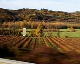 taken on the bus ride between sienna and san gimignano, Austin C - December 2009