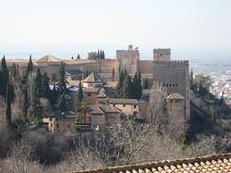View of The Alhambra Palace from the gardens., Dmitriy M - February 2008