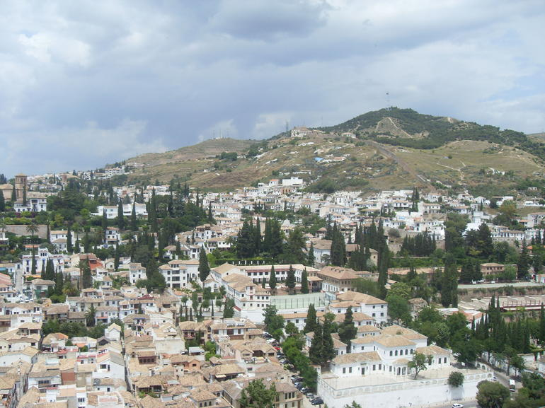 View of Granada from the Alhambra - Seville