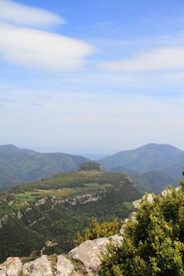 On the drive back, you get amazing views towards the Pyrenees. , SpindleA - May 2014
