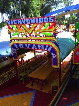 Photo of Mexico City Xochimilco and National University of Mexico Welcome to your Boat float tour with Tacos and Beer