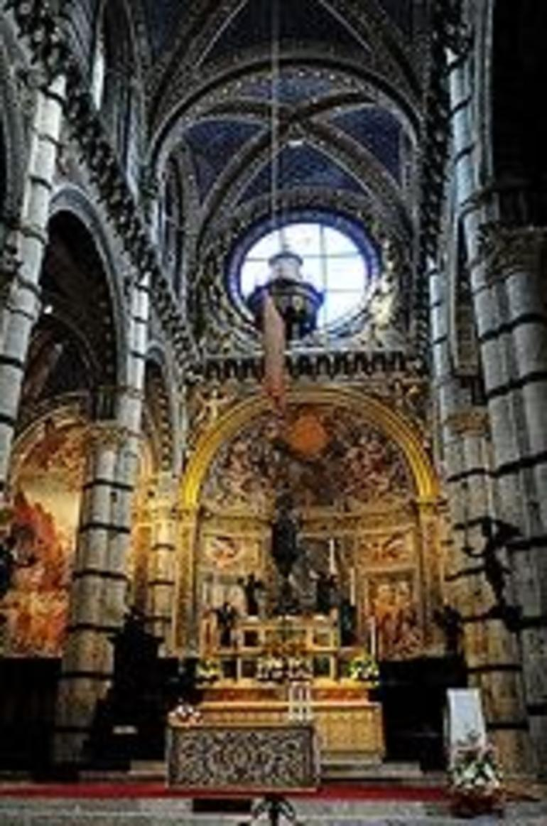 Altar of cathedral in Sienna - Florence