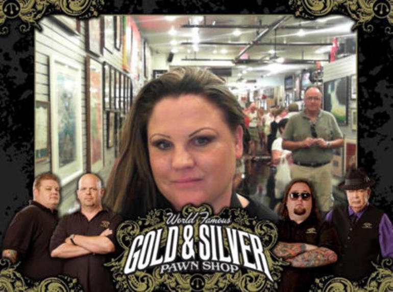 At the Gold and Silver Pawn Shop - Las Vegas