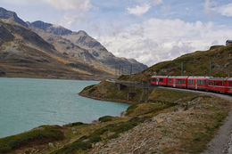 the train pass Pontresina , nanny_nan17 - October 2015
