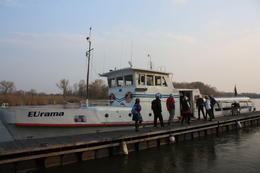 Boat on the Danube , Stephanie R - March 2011