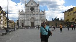 me in the piazza at florence, IRIS V - August 2010