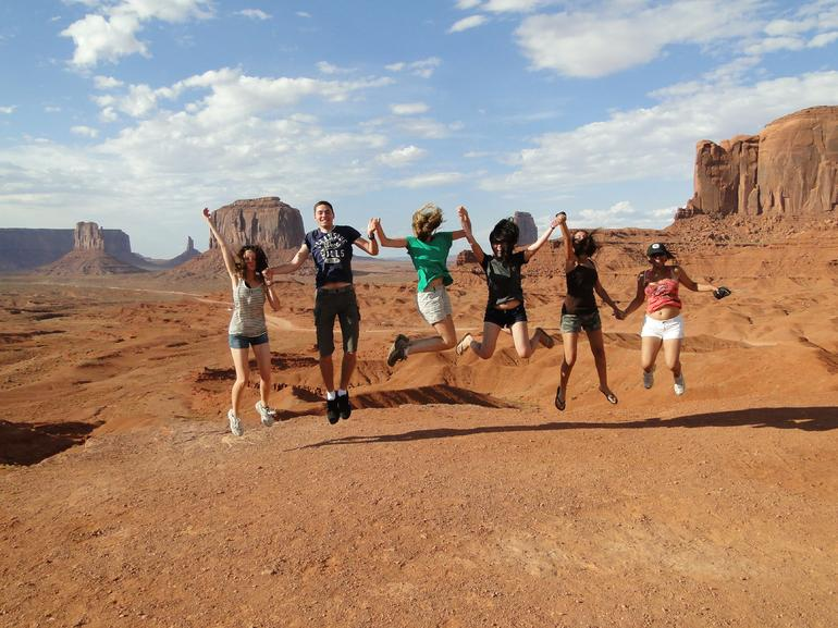 Fun times at Monument Valley - Las Vegas