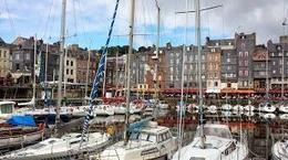 The beautiful city of Honfleur- a stop on the first day of the tour , Natalie N - September 2013