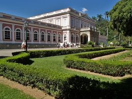 Built for the Portuguese emperor, Pedro II, as his summer residence in 1845, the palace is now a national museum no photos allowed inside! , delalando - April 2016