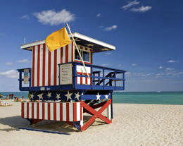 Photo of   South Beach lifeguard house