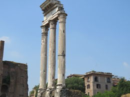 Skip the line Colloseum starts at the Roman Forum. Worth the money for the add ons. , rainey - June 2015