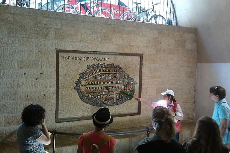 Scheme of Old City - Jerusalem