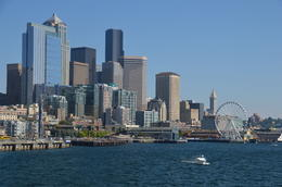 This is the view from the Seattle harbor tour. , Kris R - August 2013