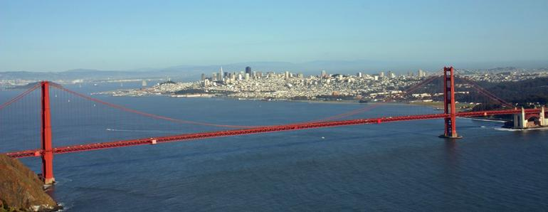 SF Helicopter Tour - the Golden Gate - San Francisco