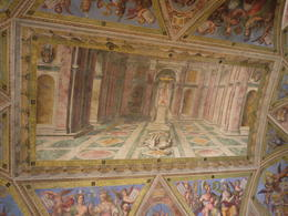 This was huge - covering the whole ceiling, Laura All Over - August 2014