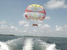 Photo of Cancun Cancun Parasailing Adventure Take off!