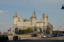 A real castle up close in Antwerp! , Catherine C - May 2012