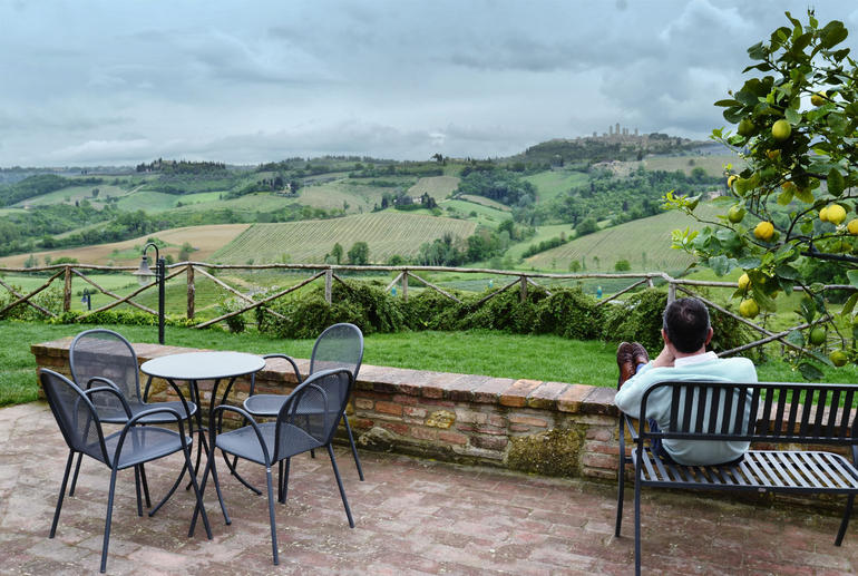 View from the farm - Florence