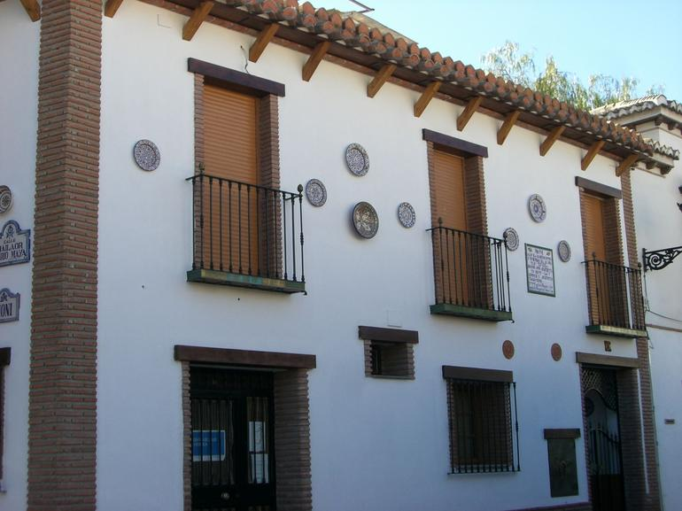 A house in Albaicin neighborhood of Granada