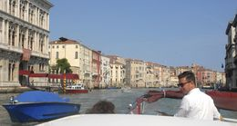 Discovering Venice for the first time with our excellent captain Sebastien. , James K - June 2015