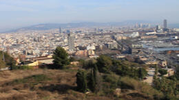 On top of Montjuïc! - March 2012