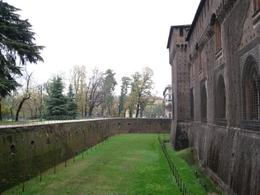 What used to be the outside moat around Castello Sforzesco (from 1450), the stronghold at the north end of Milan., Bruce J - November 2008