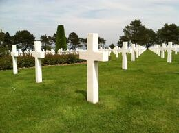 Photo of Paris Normandy D-Day Battlefields and Beaches Day Trip Cemetery.