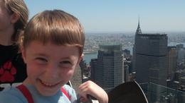 Photo of New York City Top of the Rock Observation Deck, New York Chrysler  and  MetLife buildings approved by 5-year-old, too!
