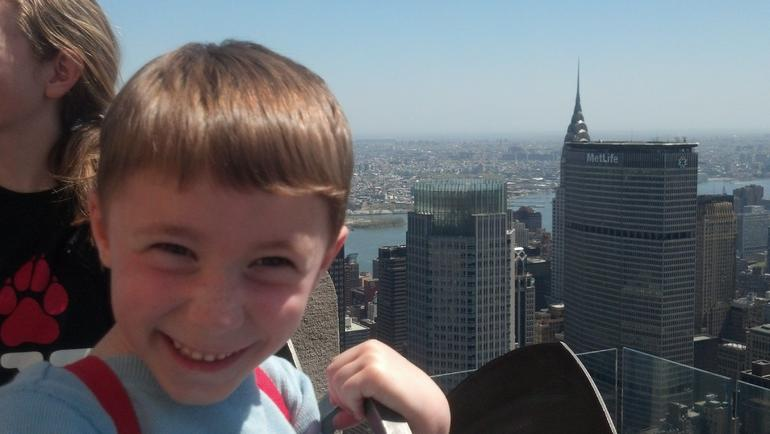 Chrysler  and  MetLife buildings approved by 5-year-old, too! - New York City