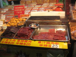 Photo of   Dry meats ect at the fish markets