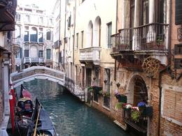 Photo of Venice Skip the Line: Venice in One Day Including Boat Tour Gondolas at rest