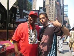 Photo of New York City New York Hip-Hop Tour Grandmaster Caz & Rory