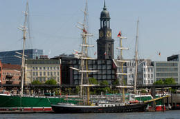 Hamburg Harbor and Lake Alster - March 2012