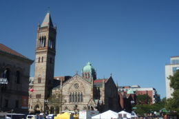 Got to see a lot of the old churches in Boston. , Ellen W - September 2015