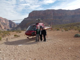 Photo of Las Vegas Grand Canyon All American Helicopter Tour Lunch at the bottom of the canyon