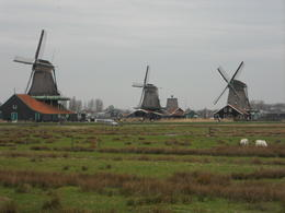 Photo of Amsterdam Zaanse Schans Windmills, Marken and Volendam Half-Day Trip from Amsterdam Moulins à vent