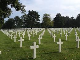 Photo of Paris Normandy D-Day Battlefields and Beaches Day Trip national cemetery