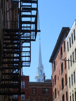 Old North Church,in the background. , Cary F - April 2016