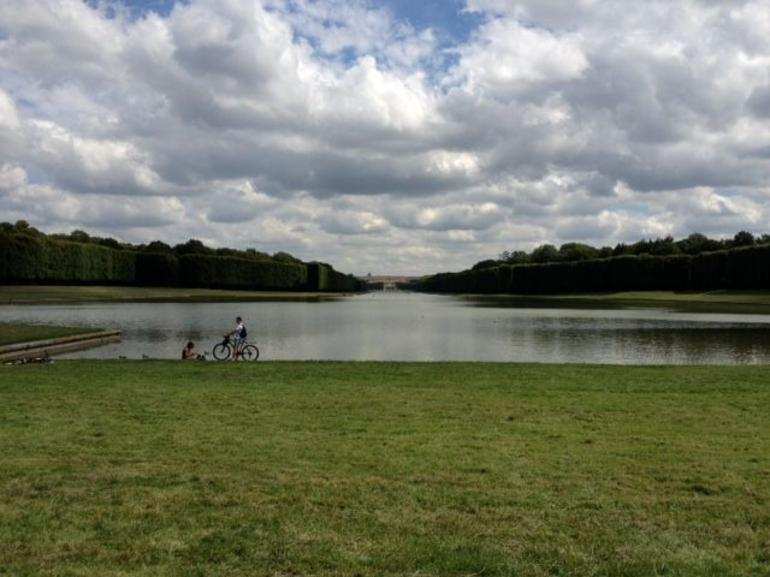 picnic spot at Versailles - Paris