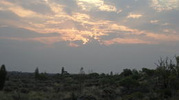 sunset in the desert , Cherny_1612 - December 2011