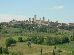 San Gimignano, on our day tour from Florence. - March 2008