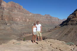 Look at amazing view behind us - totally worth it. , Ryan G - October 2013