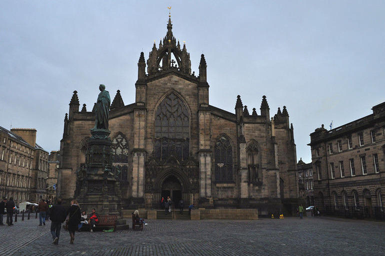 the Royal Mile - Edinburgh